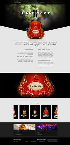 I want to redesign Hennessy's digital brand.