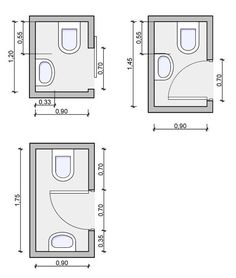 Tiny powder room layouts - back entrance/mud room layout Justin - Ally Tiny Half Bath, Small Half Bathrooms, Small Half Baths, Tiny Bathrooms, Bathroom Small, Smallest Bathroom, Small Bathroom Floor Plans, Bungalow Bathroom, Master Bathroom