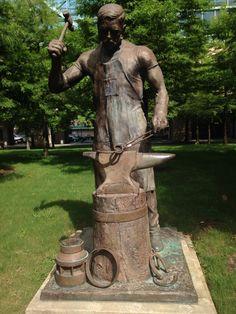 Statue in Hermann Park, Houston, TX