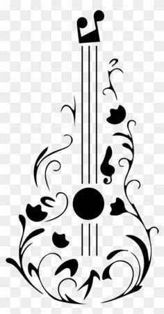 Dove Outline, Guitar Tattoo Design, Tattoo Ideas, Tattoo Designs, Feather Art, Music Wallpaper, Art Logo, Clipart, Adidas Logo