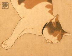 The Modern Japanese Muses of Ikenaga Yasunari Japanese Art Samurai, Japanese Cat, Japanese Artists, Japanese Illustration, Illustration Art, Illustrations, Botanical Illustration, Art Occidental, Art Du Monde