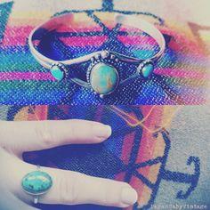 Turquoise jewellry, joyería turquesa