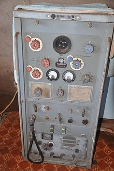 """A Marconi """"Transarctic"""" transmitter. Anyone know what this was for?"""
