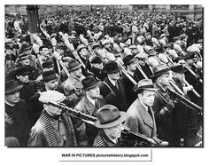 When units had completed their training and received armament, members took a customary oath to Hitler and were then dispatched into combat. Unlike most English-speaking countries, Germany had universal military service for all young men for several generations, so many of the older members would have had at least basic military training when they served in the German Army and, as noted before, many would have been veterans of the First World War. Volkssturm units were supposed to be used…