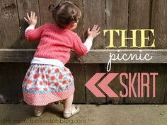 The Picnic Skirt {Tutorial} by stripesandpolkadotsblog.com
