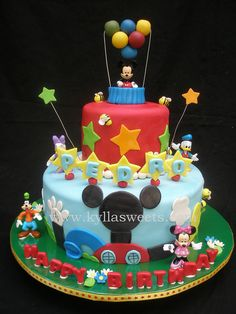 Mickey Mouse Clubhouse cake | Flickr - Photo Sharing!