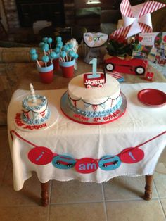 Jackson's Red Wagon birthday