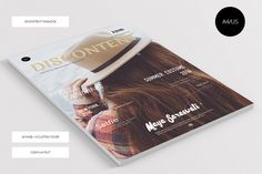 Discontent Magazine + 6 Cover Set by Visual Art Supply Co. on Creative Market