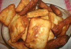 Krumplis lapotya Hungarian Recipes, Creative Food, Street Food, Bacon, Food And Drink, Cooking Recipes, Snacks, Vegetables, Breakfast
