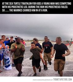 This. This right here is awesome in a picture.…pure effing awesome. Gotta love the Marines! <3