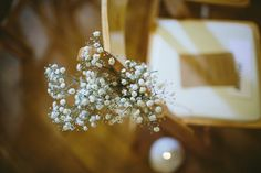 Baby Breath Gypsophila Chairs Pew Ends Natural Rustic Hand Crafted Autumn Wedding http://www.epiclovephotography.com/