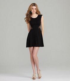 Dillards Black Dress