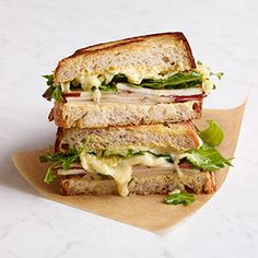 Pear and Gouda Grilled Cheese Recipe - Woman's Day
