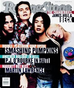 The Smashing Pumpkins on the cover of Rolling Stone