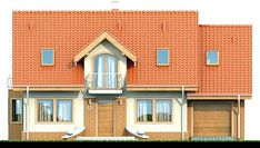 Elewacja DN Karmelita CE Small House Plans, Beautiful Homes, House Design, Mansions, House Styles, Big Thing, Outdoor Decor, Home Decor, Home Plans