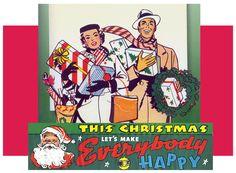 Christmas nostalgic and retro decorations