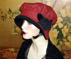 Coquette Cloche Couture 1920s Edwardian Vintage Flair Flapper Hat | eBay
