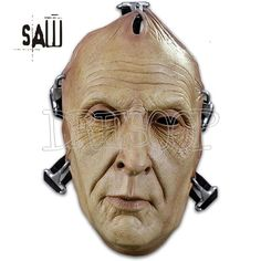 Máscara de John Kramer Puzzle de Saw - Dresoop.es