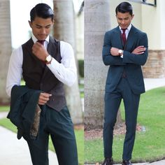 """A 3 piece is the highest level of style sophistication""    Check out our latest article discussing vests.   #tastefulmenswesr"