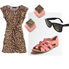 Pink and Leopard Print