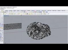 This video is in the aim of sharing my personal experience with Grasshopper modeling. Rhino Tutorial, 3d Tutorial, Grasshopper Rhino, Rhino 3d, Parametric Architecture, Design Reference, Zbrush, New Art, 3d Printing