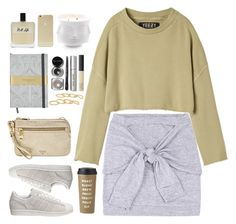 """""""Untitled #1343"""" by timeak ❤ liked on Polyvore featuring adidas Originals, adidas, FOSSIL, Sonix, Jonathan Adler, Olfactive Studio, NARS Cosmetics, Bobbi Brown Cosmetics, Arme De L'Amour and Kate Spade"""
