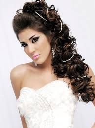 What is the perfect hair length for brides this year this year?Wedding hairstyles 2014 for long hair promises nothing but beauty and elegance in your big day. Bride Hairstyles For Long Hair, Side Hairstyles, Wedding Hairstyles For Long Hair, Bridal Hairstyles, Wedding Hairdos, Bridesmaid Hairstyles, Updo Hairstyle, Unique Hairstyles, Latest Hairstyles