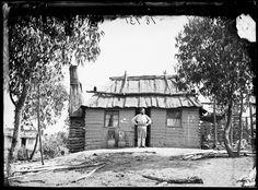 John Osborne, painter and signwriter, Gulgong, NSW, 1872. -  Photo Credit: Beaufoy Merlin / Charles Bayliss