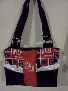 Utah Utes purse or diaper bag?