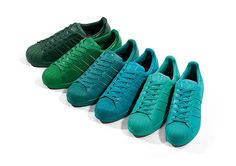 Pharell Williams x adidas Originals Superstar Supercolour Pack. http://www.thedailystreet.co.uk/2015/03/pharrell-williams-x-adidas-originals-superstar-supercolour-pack/
