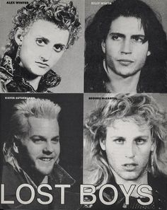 The Lost Boys Paul | the lost boys # kiefer sutherland # billy wirth # alex winter