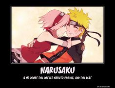 Naruto x Sakura | NaruSaku | Heaven & Earth | Orange / Yellow & Pink / Red