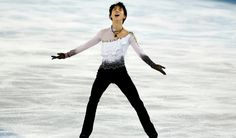 """""""Hanyu was practicing in Sendai when the earthquake and tsunami hit in 2011. He evacuated the arena with his skates still on, fearing the building couldn't withstand the 9.0-magnitude quake. Hanyu considered quitting figure skating. But donations poured in from across the country and around the world to allow him to keep training — including from Shizuka Arakawa, the 2006 Olympic women's figure skating gold medalist from Japan."""""""