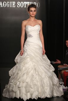 Brides: Maggie Sottero - Spring 2013 | Bridal Runway Shows | Wedding Dresses and Style | Brides.com