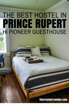 Quaint, homely and packed full of facilities, HI Prince Rupert Pioneer Guesthouse is the best choice for a place to stay in Prince Rupert - Hostel Review: HI Prince Rupert Pioneer Guesthouse - The Trusted Traveller #PrinceRupert #BritishColumbia #Canada #NorthAmerica #Travel #Accommodation