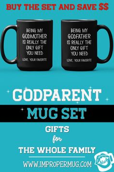 Mug Sets | Gift for In-Laws – Mug Set for Father-in-Law and Mother-in-Law – Thanks for Not Putting My Husband Up For Adoption. Save $$$ Buy the Set! This is a listing for two mugs. They are packaged and shipped separately allowing you to have two gifts or gift them together! Design printed on both the front and back sides of the mug. 100% Dishwasher and Microwave safe. Collect this awesome mug set. #MugSetForFatherInLaw #MugSet #MugSetForCouple #CoupleMugs #Mugs #impropermug