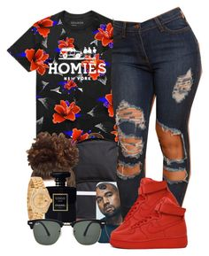 """""""Im out"""" by trill-forlife ❤ liked on Polyvore featuring Herschel Supply Co., NIKE, Chanel, Rolex and Ray-Ban"""