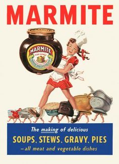 Marmite ancient advert
