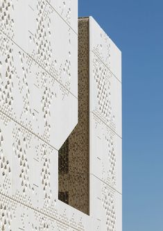 Mecanoo's new Palace of Justice building is a modern take on Cordoba's Great Mosque Facade Architecture, Contemporary Architecture, Architecture Texture, New Palace, Public Realm, Urban Fabric, How To Level Ground, Mosque, Planer