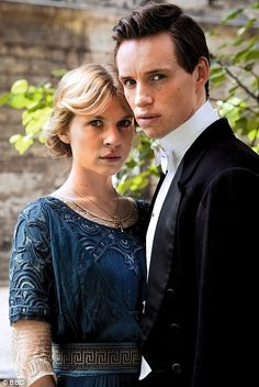 'Birdsong' with Clémence Poésy as Isabelle Azaire and Eddie Redmayne as Stephen Wraysford. BBC 2012