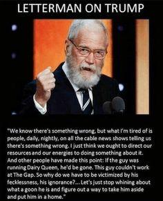 David Letterman Quote.