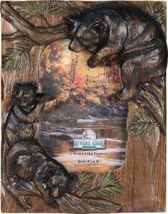 hunting frames bear family picture frame