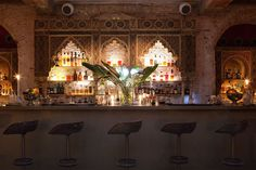 Ocaña's quintuplet of creative spaces are a treat for the senses in Barcelona... http://www.we-heart.com/2014/12/18/ocana-placa-reial-barcelona/