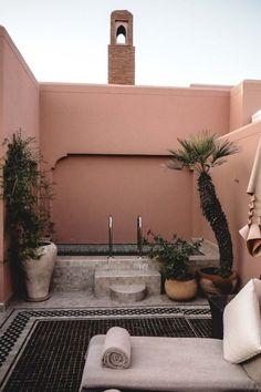 The Royal Mansour in Marrakech, Morocco. Idea home decor, real estate in . Moroccan Design, Moroccan Style, Exterior Design, Interior And Exterior, Hotel Am Meer, Outdoor Spaces, Outdoor Living, Garden Design, House Design