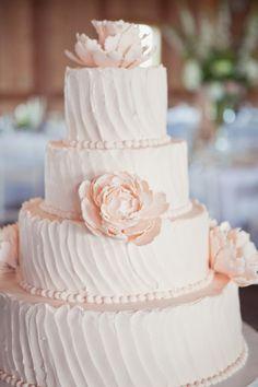 [ Wedding Lights Light Pink Wedding Cake Weddbook 1 ] - Best Free Home Design Idea & Inspiration Blush Wedding Cakes, Beautiful Wedding Cakes, Beautiful Cakes, Cake Wedding, Wedding Ceremony, Our Wedding, Wedding Dress, Color Rosa Claro, Cream Wedding
