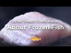 What Smart Chefs Know About Frozen Fish - YouTube