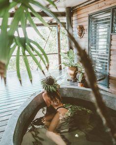 Finding Peace in a Fijian Paradise - Savasi Island, Fiji Mason Jar Diy, Mason Jar Crafts, Galaxy Bath Bombs, Outdoor Baths, Outdoor Bathrooms, Mason Jar Lighting, Tropical Vibes, Island Resort, Diy Home Decor Projects