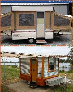 Essential Factors to think about When Purchasing a Recreational Vehicle for Travel – The RV Source Popup Camper Remodel, Diy Camper Trailer, Build A Camper, Semi Trailer, Homemade Camper, Fishing Shack, Rv Financing, Vanz, Fish House