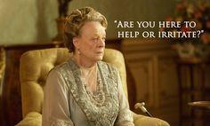 RadioTimes | Downton Abbey S6 E4 | Violet to Lady Shackleton