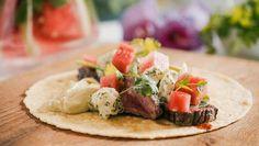 Sofie in de keuken van...: Wraps met gegrilde steak en avocadosaus - HLN.be